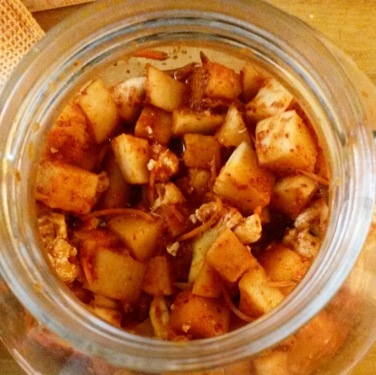 Kkakdugi (radish Kimchi) Recipes — Dishmaps